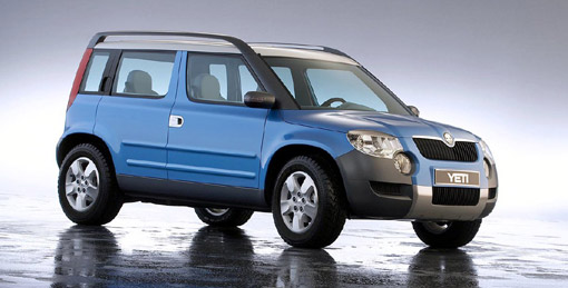 Skoda gives Yeti 4x4 the green light