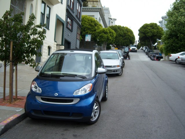 Smart Car In San Francisco