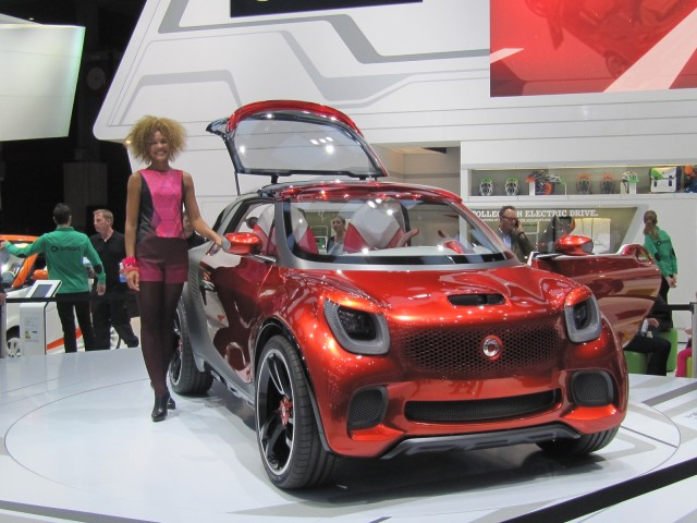 Smart ForStars concept, 2012 Paris Auto Show