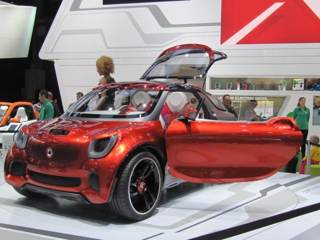 Smart ForStars concept, 2012 Paris Auto Show
