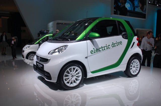 2012 smart fortwo electric drive, 2011 Frankfurt Auto Show