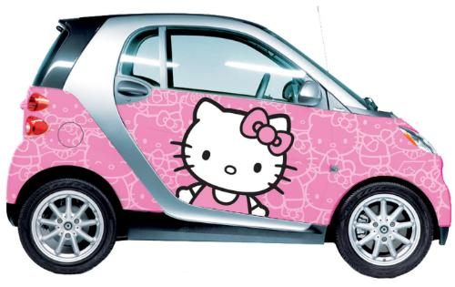 Smart Fortwo Hello Kitty