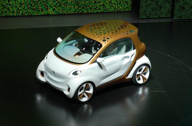 Smart Forvision concept live photos, 2011 Frankfurt Auto Show