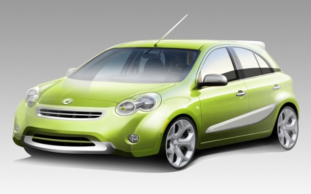Smart Four Door Car To Launch In 2017 Based On Nissan Micra