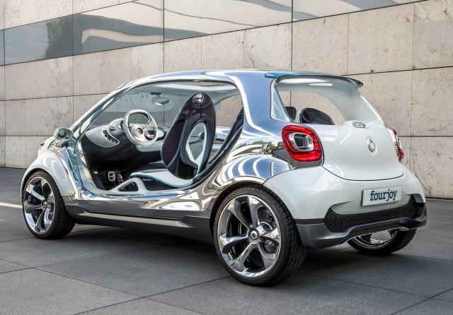 Smart Fourjoy Concept 2017 Frankfurt Auto Show