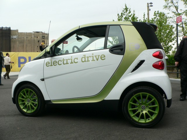 2011 Smart electric drive  -  first drive
