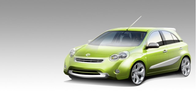 2012 Smart-Nissan hatchback