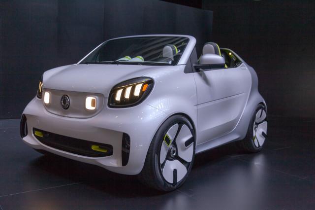 Smart ForEase concept, 2018 Paris auto show