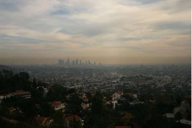 Smog over Los Angeles, courtesy Flickr user steven-buss