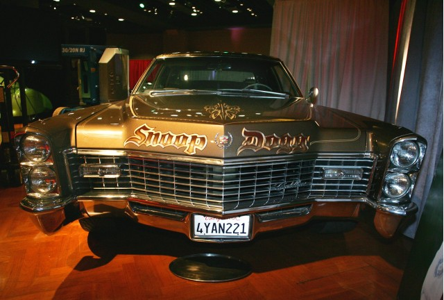Snoop Dogg's 1967 Cadillac, Brown Sugar, from The News Herald