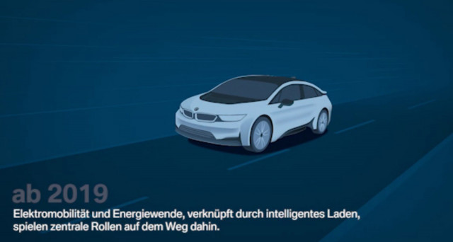 Social media video showing potential BMW i5