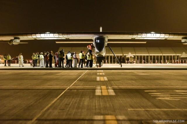 Solar Impulse 2 solar-powered airplane