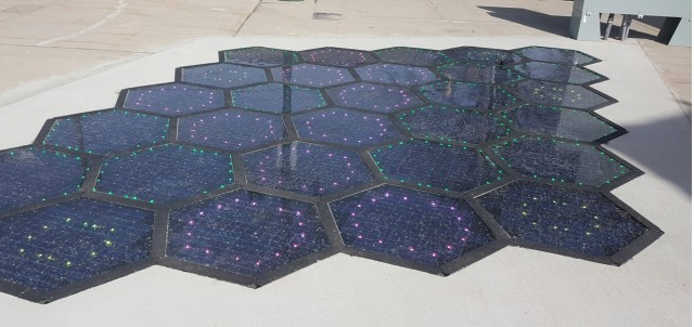 Solar Roadways road surface solar panels