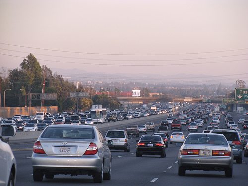 Southern California traffic - by flickr user David R. Blume