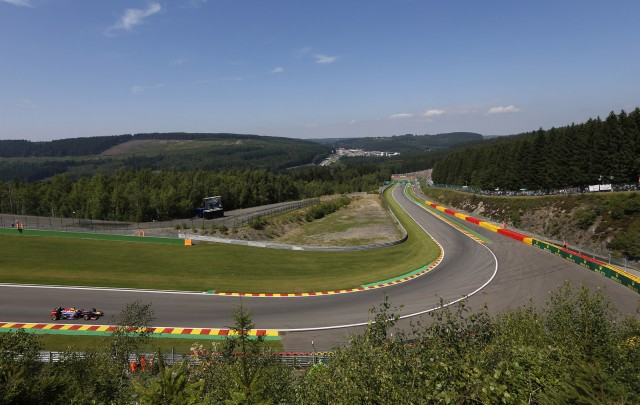 Spa-Francorchamps, home of the Formula One Belgian Grand Prix