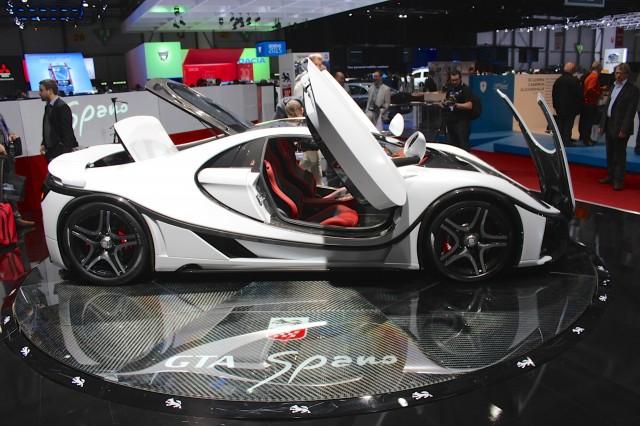 Spania GTA Spano  -  2015 Geneva Motor Show live photos