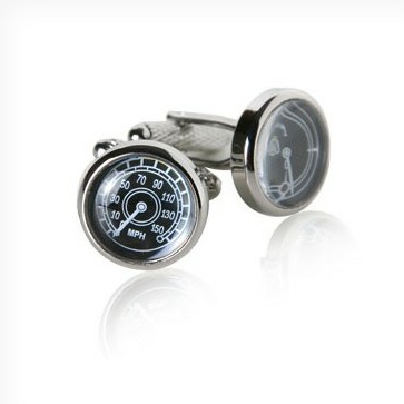 Speedometer & fuel gauge cuff links