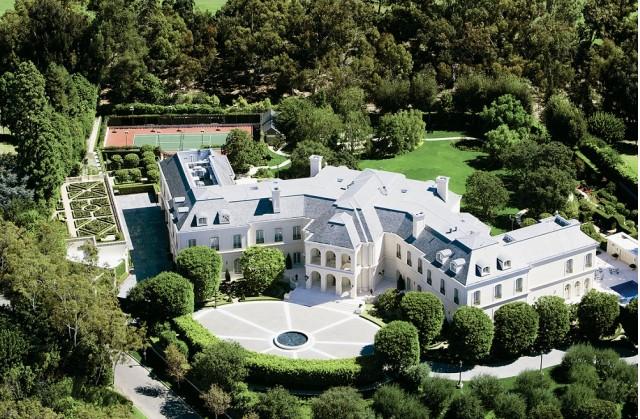 Spelling mansion in LA