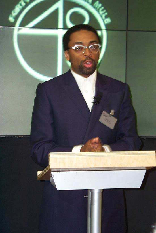 Spike Lee, 2000 New York Auto Show