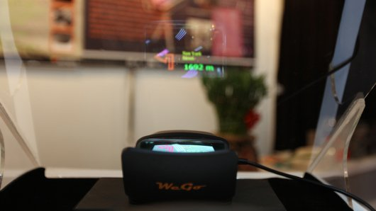 Springteq WeGo all-in-one HUD navigation unit