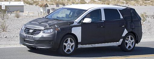 Spy shots: 2010 Hyundai Portico crossover