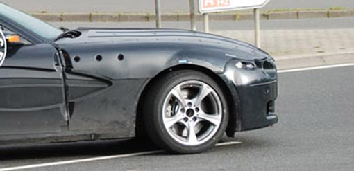 Spy Shots: BMW Z4 facelift