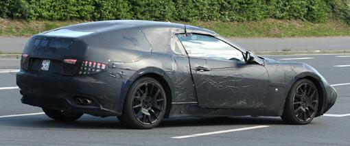 Spy Shots: Maserati's new small coupe-cabrio