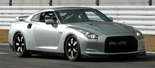 Spy Shots: Nissan GT-R club racer or possible V-Spec