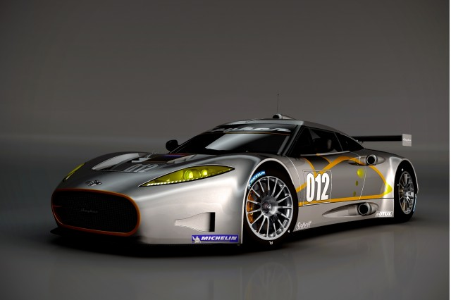 Spyker C8 Aileron GT race car preview