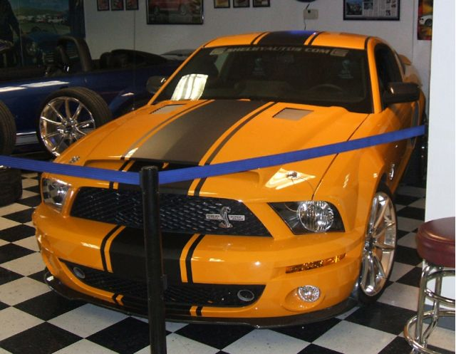 Grabber Orange Shelby Gt500 Super Snake Photos