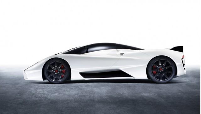 SSC Tuatara supercar concept