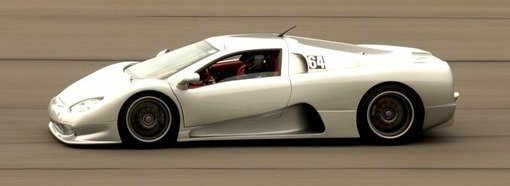 SSC Ultimate Aero closes in on Veyron's top speed
