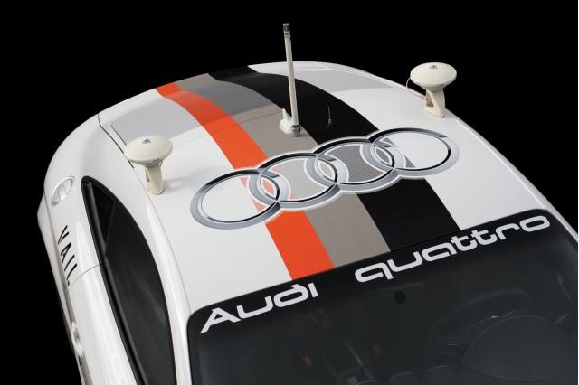 Stanford/Audi TTS autonomous Pikes Peak car, aka 'Shelley'