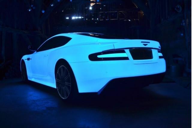 Starpath UV Painted Aston Martin