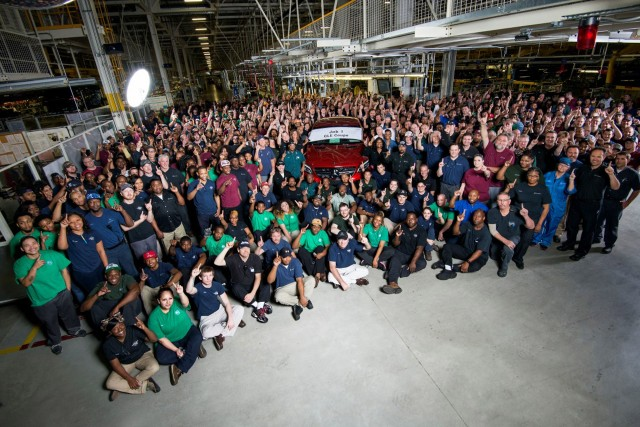 Mercedes benz starts production of new gle coupe at u s plant for Mercedes benz tuscaloosa alabama