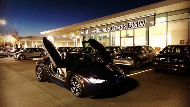 Stevens Creek BMW i Center, Santa Clara, California, May 2015 opening