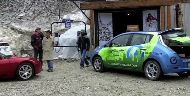 Stevens Pass Electric Car Charging Point Launch