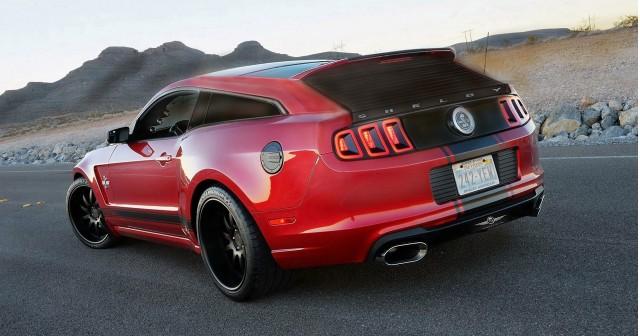 Strand Craft Shelby Mustang GT500-based shooting brake