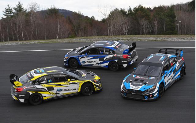 Subaru Americas Rallycross Championship team