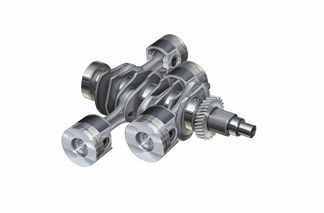 Subaru Boxer Diesel pistons/crankshaft
