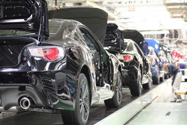 Subaru BR-Z production in Japan