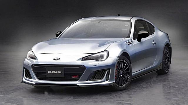Perfect Subaru BRZ STI Sport Concept, 2017 Tokyo Auto Salon
