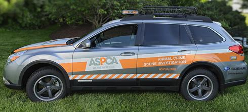 Subaru Outback ASPCA Crime Scene Investigation unit in Gainesville, FL [via USAToday]