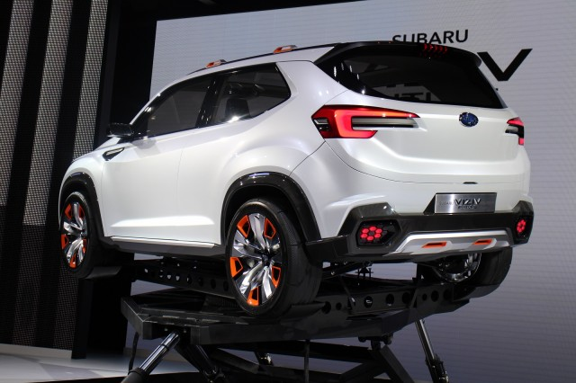 Subaru Viziv Future Concept Previews Next-Generation ...