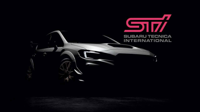 Subaru WRX STI S209 teased ahead of 2019 Detroit auto show