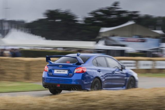 Subaru WRX STI RHD Goodwood Festival of Speed