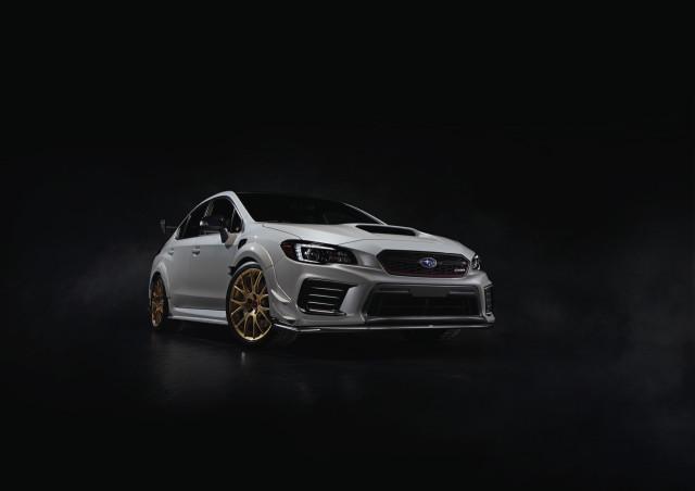 Subaru WRX STI S209 unveiled