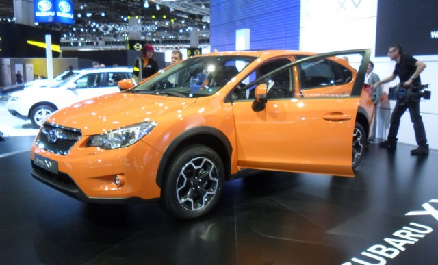 2012 Subaru XV live photos