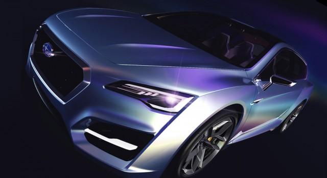 2011 Subaru Advanced Tourer Concept teaser