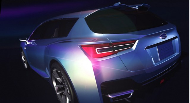 2011 Subaru Advanced Tourer Concept teaser